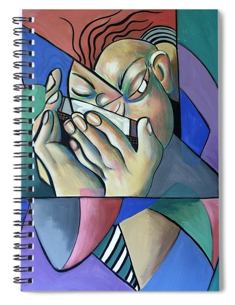 Harmonia Man Spiral Notebook