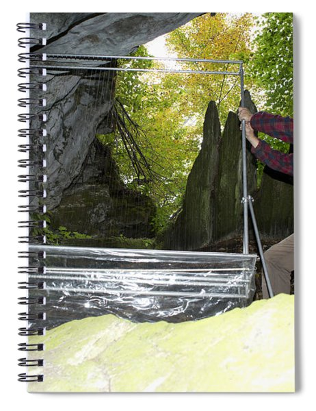 Harp Trap To Capture And Study Bats Spiral Notebook
