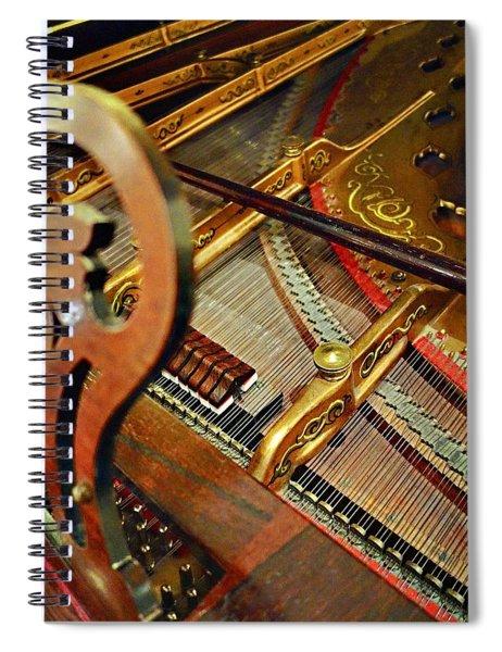 Harpsichord  Spiral Notebook