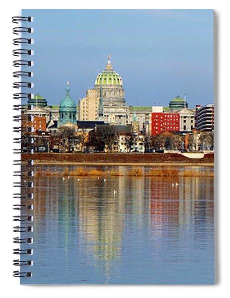 Harrisburg Reflections Spiral Notebook