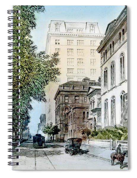 Harrison Residence East Rittenhouse Square Philadelphia C 1890 Spiral Notebook