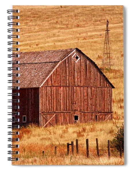 Harvest Barn Spiral Notebook
