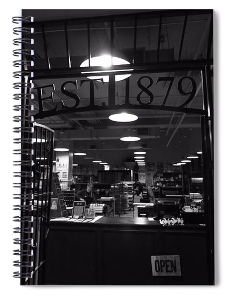 Hatch Show Print Black And White Spiral Notebook
