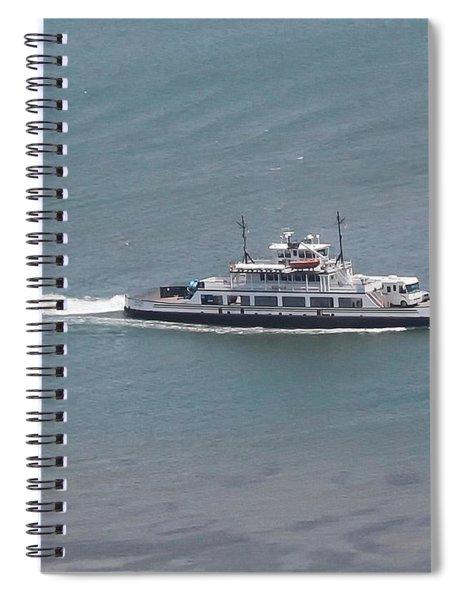 Hatteras-ocracoke Ferry Spiral Notebook