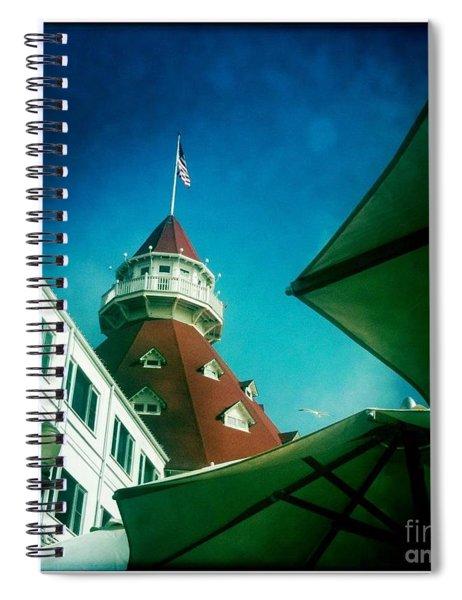 Haunted Hotel Del Spiral Notebook