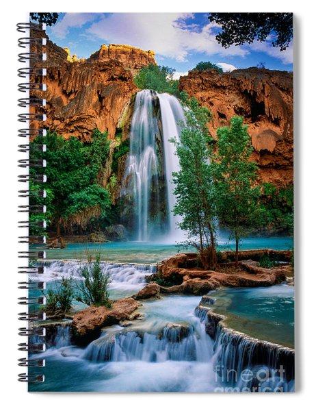 Havasu Cascades Spiral Notebook