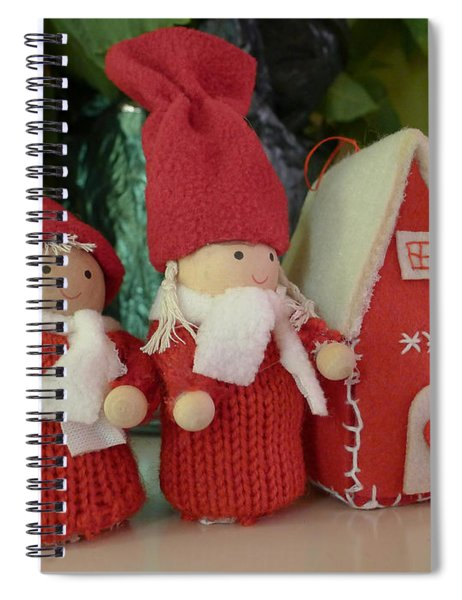 Have Yourself A Crafty Xmas Spiral Notebook