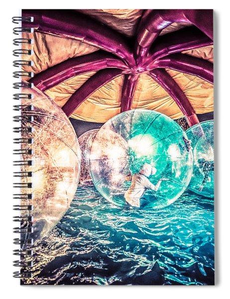 Having A Ball Spiral Notebook
