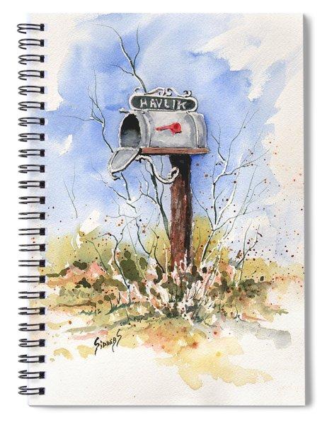 Havlik's Mailbox Spiral Notebook
