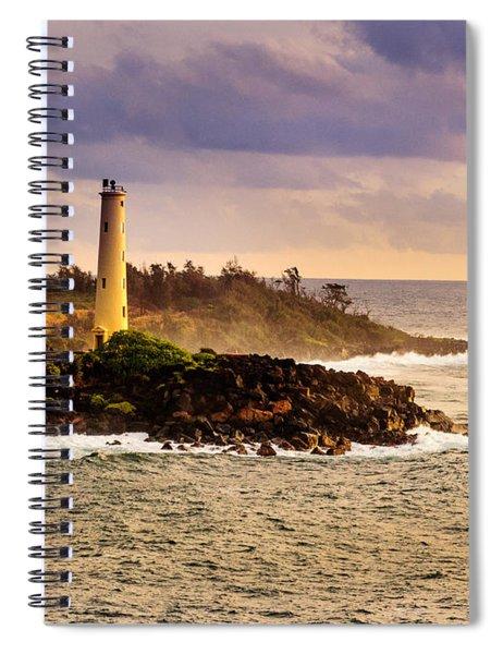 Hawaiian Lighthouse Spiral Notebook