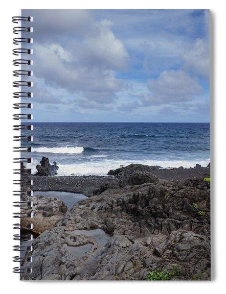 Hawaiian Surf Spiral Notebook