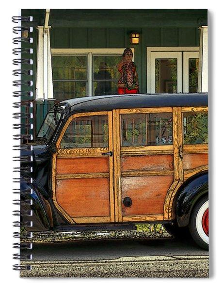 Hawaiian Woody Spiral Notebook