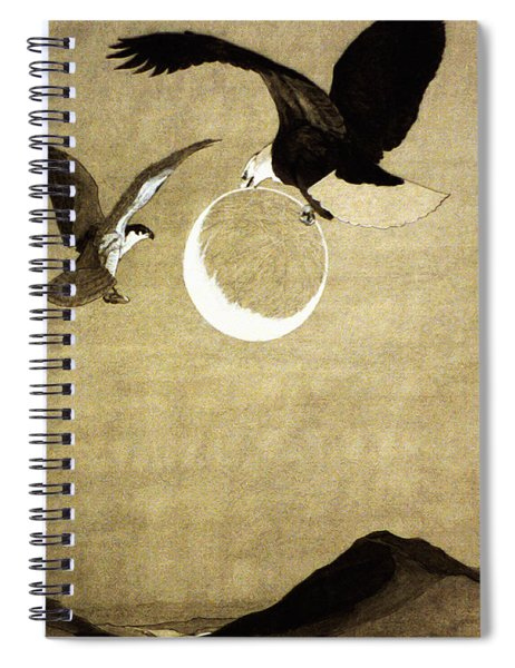 Hawk Made A Light By Striking The Flints Together And Set Fire To The Ball Spiral Notebook