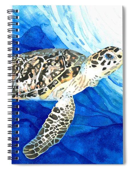 Hawksbill Sea Turtle 2 Spiral Notebook