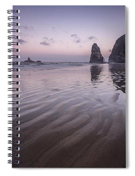 Haystack Glow Spiral Notebook