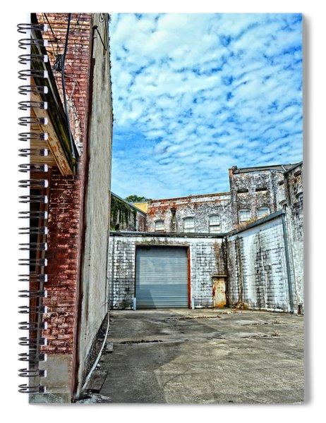 Hdr Alley Spiral Notebook