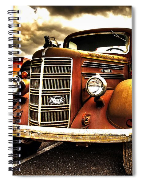 Hdr Fire Truck Spiral Notebook