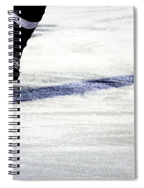 He Skates Spiral Notebook