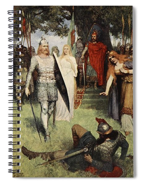 He Was Compelled To Yield, From The Spiral Notebook