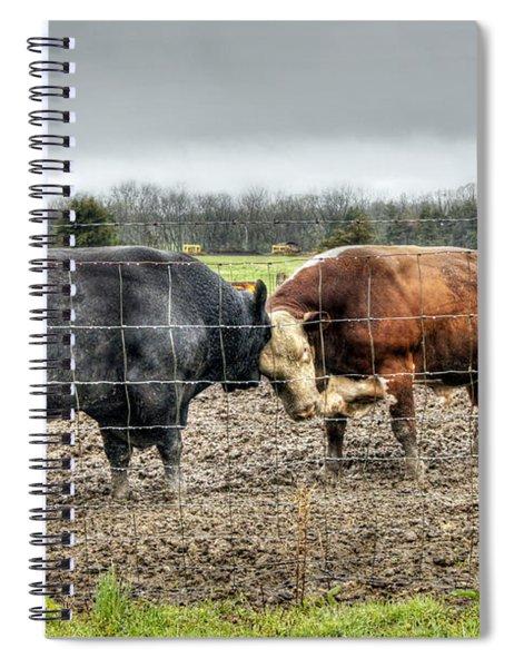 Head To Head Spiral Notebook