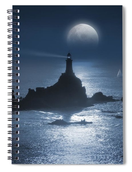 Heading For The Light Spiral Notebook