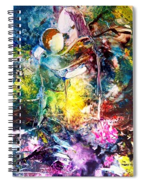 Healing Love Spiral Notebook