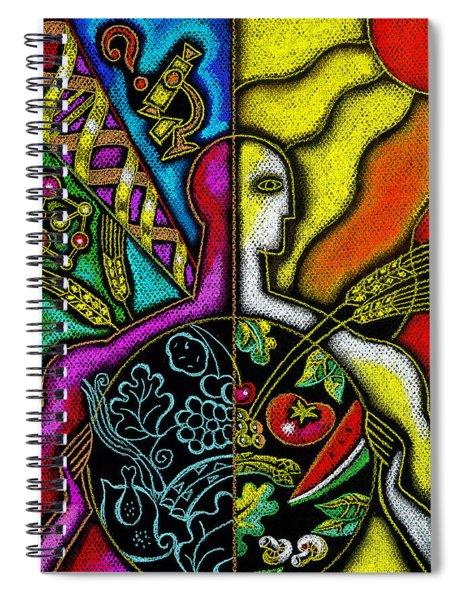 Health Food Spiral Notebook