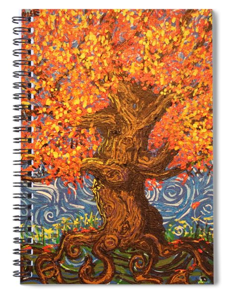 Healthy At Home Tree Spiral Notebook