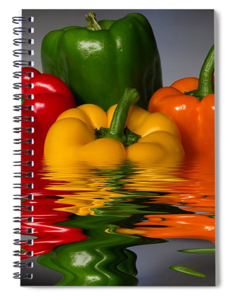 Healthy Reflections Spiral Notebook