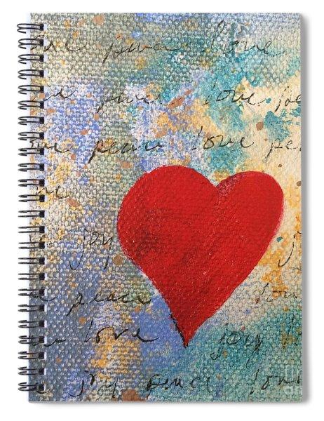 Heart #9 Spiral Notebook
