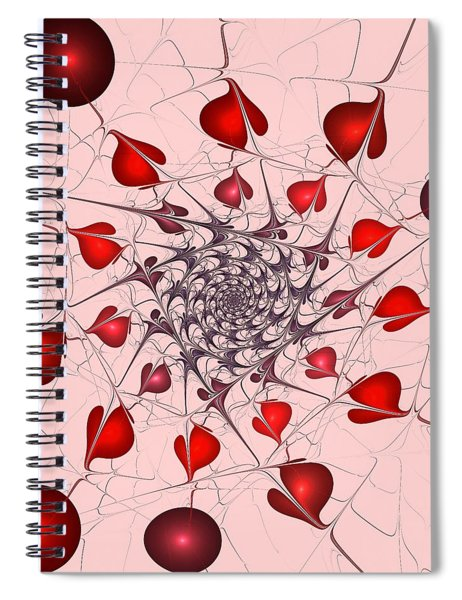 Heart Catcher Spiral Notebook