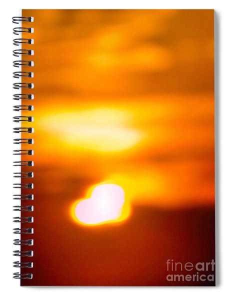 Heart Of The Day Spiral Notebook