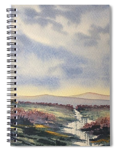 Heather On The Road To Fairy Plain  Spiral Notebook