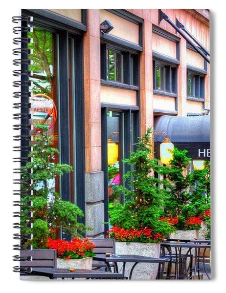 Heathman Restaurant 17368 Spiral Notebook