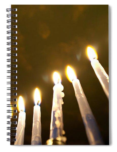 Heavenly Lights Spiral Notebook