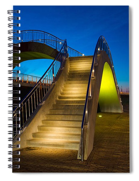 Heavenly Stairs Spiral Notebook