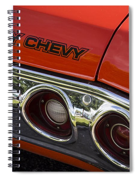 Heavy Chevy Spiral Notebook