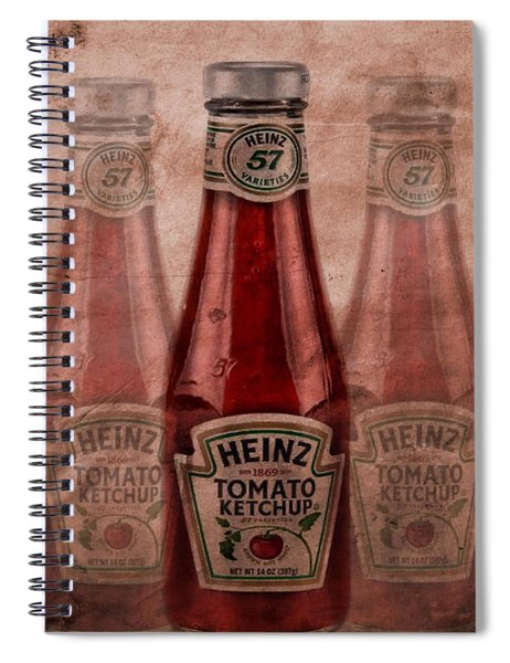 Heinz Tomato Ketchup Spiral Notebook
