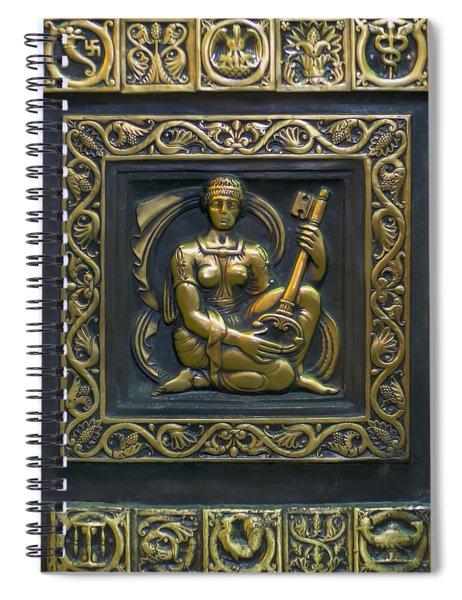Hekate Bronze Plate Spiral Notebook