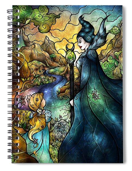 Hello Beastie Spiral Notebook