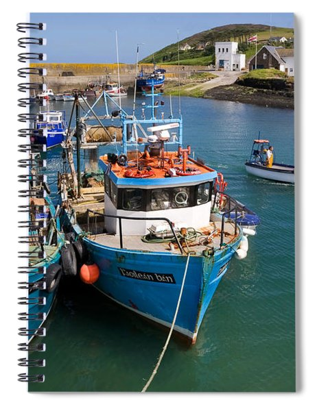 Helvick Harbour, Ring Gaeltacht Region Spiral Notebook