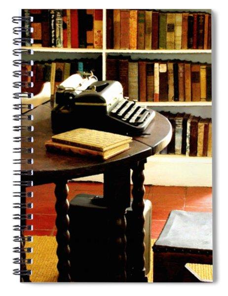 Hemingway's Studio Ernest Hemingway Key West Spiral Notebook