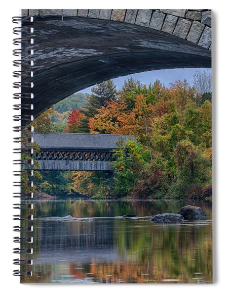 Henniker Covered Bridge No. 63 Spiral Notebook