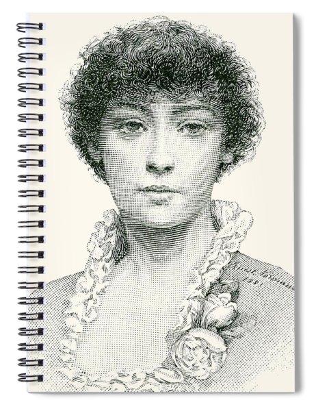 Henrietta Emma Ratcliffe Rae Spiral Notebook