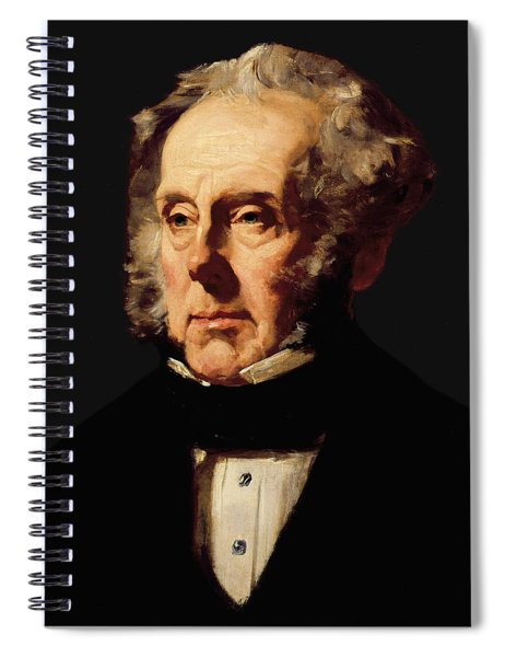 Henry John Temple, 3rd Viscount Palmerston, C.1855 Oil On Canvas Spiral Notebook