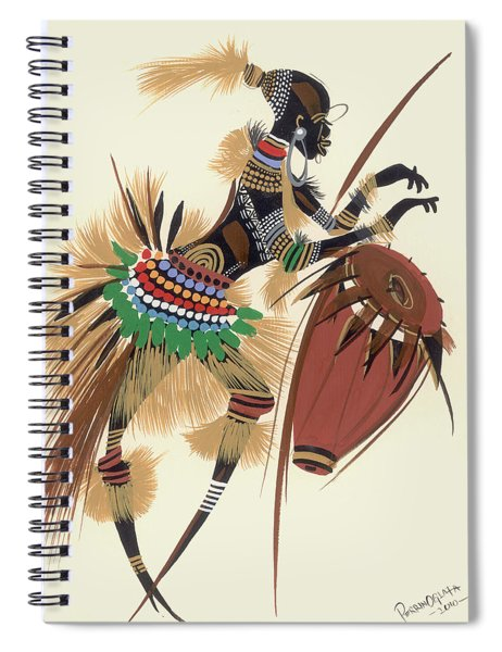 Her Rhythm And Blues Spiral Notebook