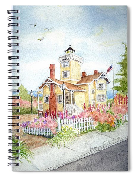 Hereford Inlet Lighthouse Spiral Notebook