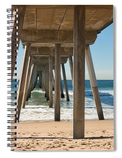 Hermosa Beach Pier Spiral Notebook