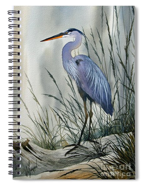 Herons Sheltered Retreat Spiral Notebook