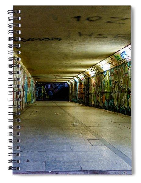 Hidden Art Spiral Notebook